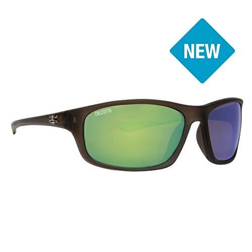 Calcutta N1GMCO Nautilus Sunglasses Crystal Olive Frame Green Mirror