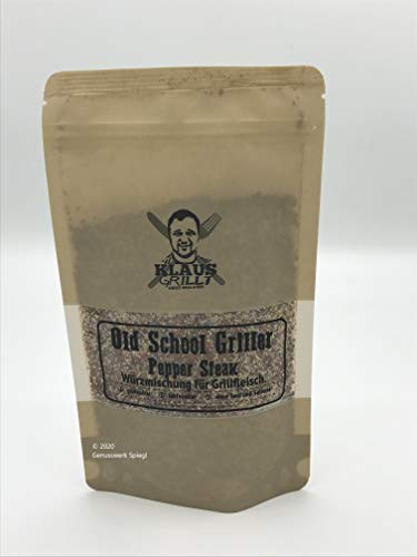 Klaus grillt, Old School Griller Pepper Steak 250 g