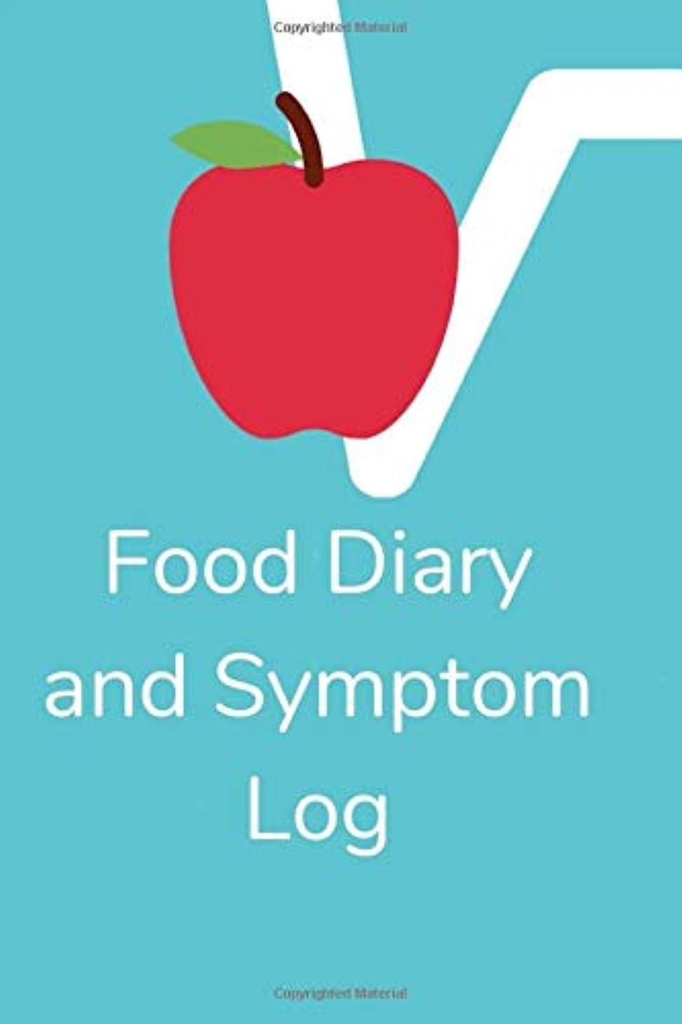 こするアライアンス激怒Food Diary and Symptom Log: Light Blue Daily Food Journal, Symptom Tracker, 8 Months Undated, Allergy log (Helpful log book)