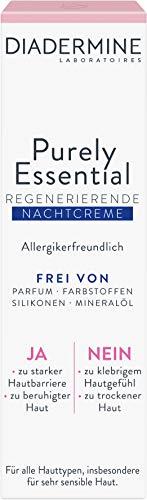 DIADERMINE Purely Essential Nachtpflege Nachtcreme, 1er Pack (1 x 40 ml)