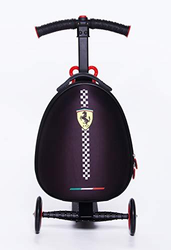 Ferrari Kids Scooter Luggage, Black