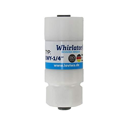Whirlator Verwirbler EWY-1/4 für Kunststoffschlauch von Leviwa Wasserwirbler