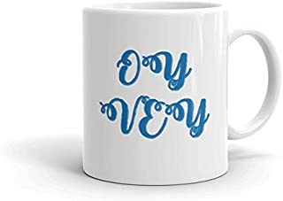 Oy Vey coffee mug - Novelty Birthday Idea For Friends, Mom, mother (11oz)