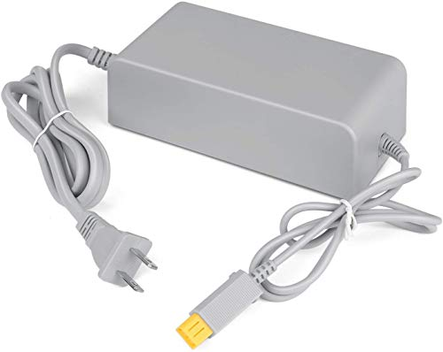 Console Charger for Wii U, AC Adapter Power Supply Replacement for Nintendo WiiU Console (Not Compatible with Nintendo Wii)