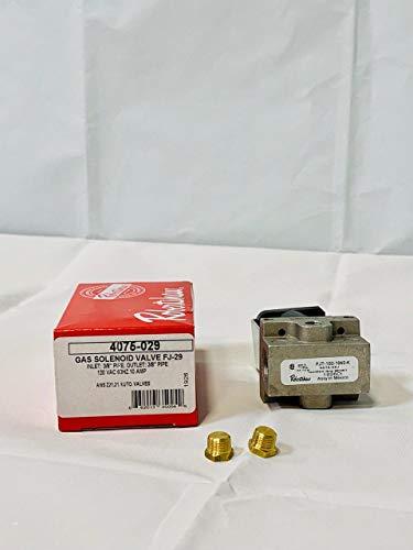 4075-029 Robertshaw Fryer Griddle Gas Solenoid Valve for 54-1026 FJT 920608-11