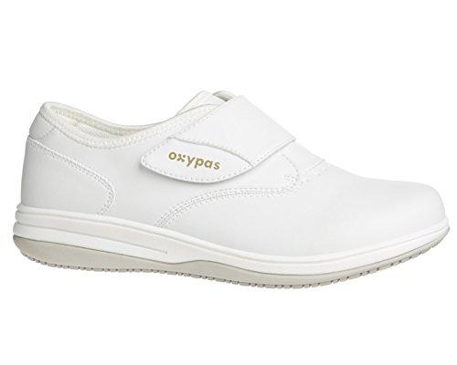 Oxypas Medilogic Emily Slip-resistant, Antistatic Nursing Shoe, White (Wht), 3.5 UK (36 EU)