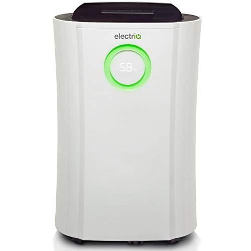 electriQ Low Energy 20L Dehumidifier, for Damp, Condensation, Mould...