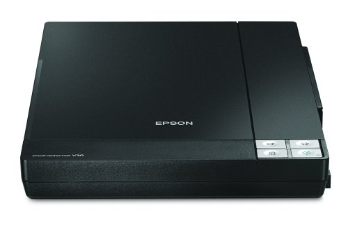 Best Buy! Epson Perfection V30 - Flatbed scanner - 8.5 in x 11.7 in - 4800 dpi x 9600 dpi - Hi-Speed...