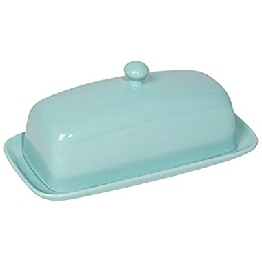 Now Designs Butter Dish, Eggshell