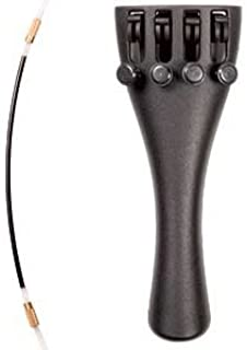 Wittner 1/2 Violin Ultra Composite Tailpiece with 4-tuners and Nylon Tailgut
