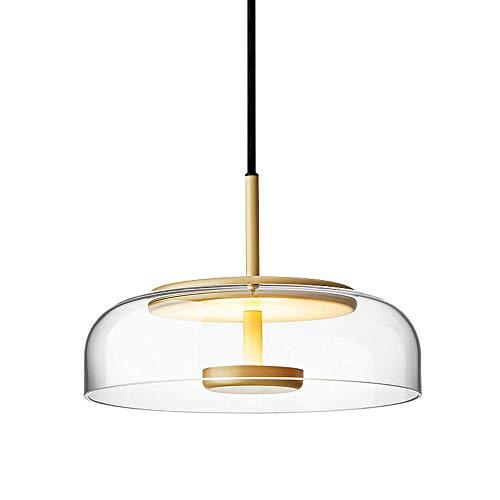 Lámpara de suspensión colgante LED moderna Lámpara de suspensión de techo 7W lámpara colgante de luz cálida, taller de café creativo nórdico para la cocina de la isla de la cocina Barra de restaurante