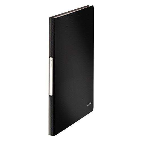 Leitz 45651095 Solid Sichtbuch PP A4, 40 Hüllen, schwarz