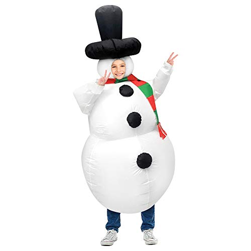 (40% OFF) Inflatable Snowman Costume $11.99 – Coupon Code