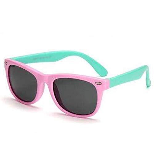 Boolavard Kinder Sportlicher Stil Polarisierenden Sonnenbrillen Flexiblen Rahmen für Die Jungen und Mädchen Alter 3-10