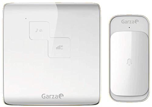 Garza - Timbre inalámbrico exterior con IP44 para casa. Llamador eléctrico para...