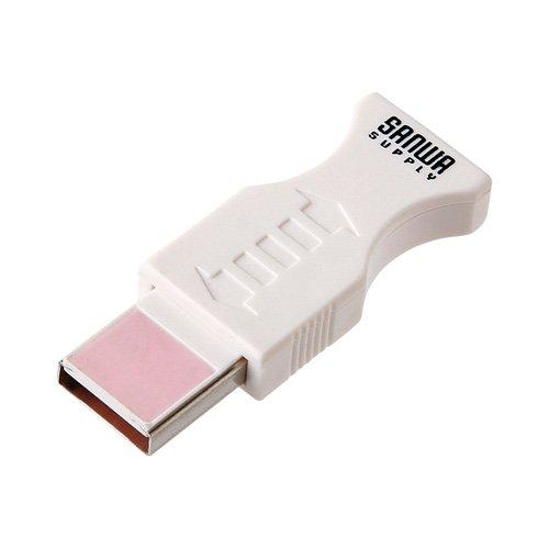 サンワサプライ アウトレット USBポートクリーナー USBポート専用 CD-USB1N *箱にキズ 汚れのあるアウトレ...
