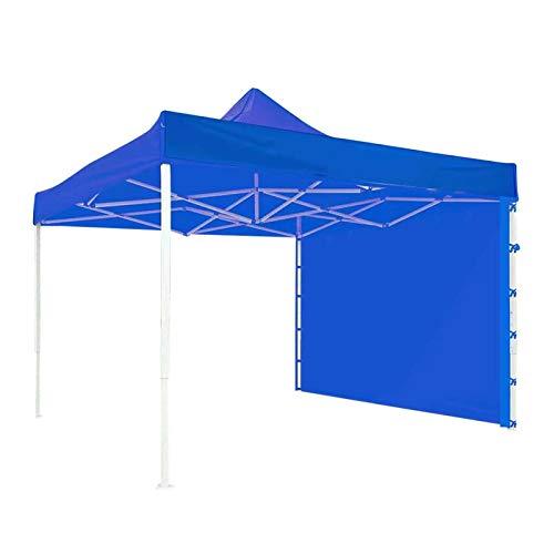 POHOVE Parasol de pared lateral, carpa plegable, carpa de cenador, carpa de marco, carpa plegable para patio, césped, jardín, piscina, estanque, cubierta, patio trasero, patio de 300 x 200 cm
