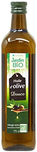 Jardin Bio - Huile d'Olive Vierge Extra Douce bio - 75 cl