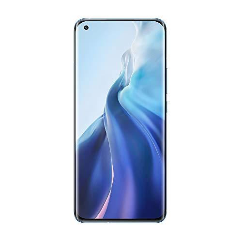 "Versión Global Xiaomi Mi 11 Smartphone, 8GB + 256GB Snapdragon 888 Octa Core, Cámara 108MP + 20MP, Pantalla AMOLED de 6.81"" (Azul)"