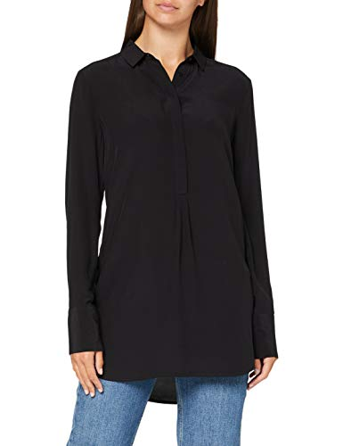 comma Damen 85.899.11.0891 Bluse, 9999 Black, 40