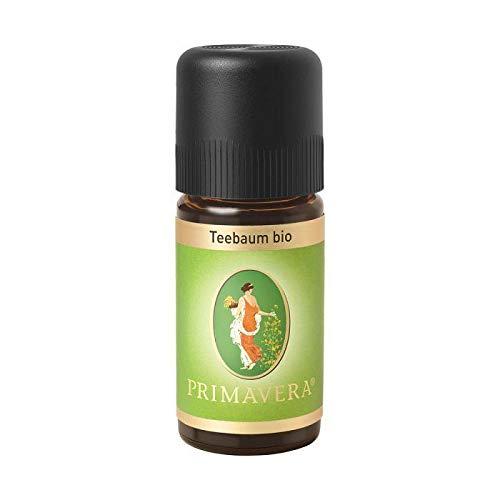 PRIMAVERA Ätherisches Öl Teebaum bio 10 ml - Aromaöl, Duftöl, Aromatherapie - reinigend, antibakteriell, desinfizierend - vegan
