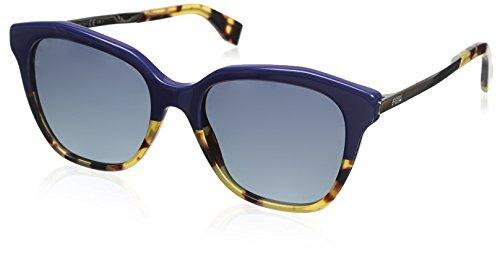 FENDI FF 0089/S HD Gafas de sol, Blueehvn Gold, 52 para...