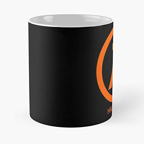 Gaben Lambda Half Life Valve Portal Source Best 11 Ounce Ceramic Coffee Mug Best 11 oz Kaffeebecher - Nespresso Tassen Kaffee Motive !