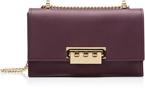"""Handbag Dimensions: 10""""L x 3""""W x 6""""H 1 snap pocket, 1 slide pocket, 1 divider 1 exterior slide pocket"""