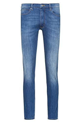HUGO Mens 734 Jeans, Bright Blue(430), 2930