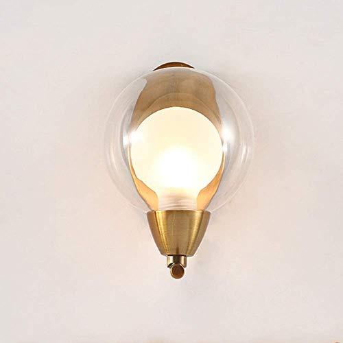YANQING Duurzame Postmoderne Scandinavische Woonkamer Wandlamp Crystal Licht Nachtlampje Lampen 5-10 Vierkante Meters Slaapkamer Woonkamer Eetkamer Studie