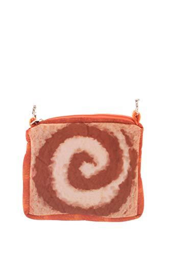 LB-102-3 Schokolade Chocolate Toast Brot-Scheibe Sweet Pastel Goth Lolita Mini Stoff Umhänge-Tasche Harajuku Kawaii