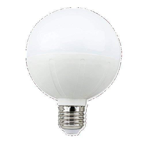 Aigostar 181772 LED-Leuchtmittel, G95, Kugelform, 15 W, Schraubsockel, Kaltweiß