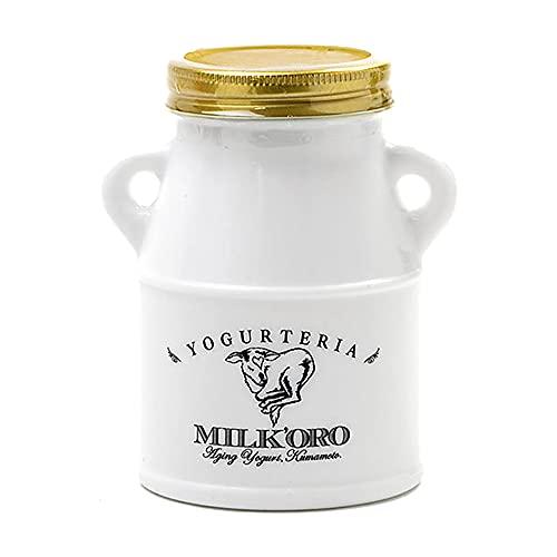 ミルコロエイジングヨーグルト 1瓶 200g 搾りたて ジャージー牛乳 無添加 乳酸菌 冷蔵 ミルコロ 瓶詰め お取り寄せ オオヤブデイリーファーム 青空レストラン