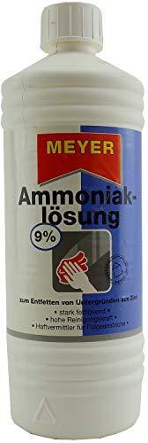 Ammoniak-Lösung 9% reinigen u entfetten 1Liter
