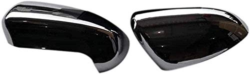 LIUJTAO - 2 coperture di ricambio per specchietto retrovisore auto, per Nissan Qashqai J10 2007-2013