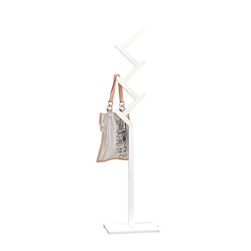 Ya-Ya Houten kapstok, met vierkante basis voor hoed, kleding, sjaal, garderobe voor tassen, garderobe