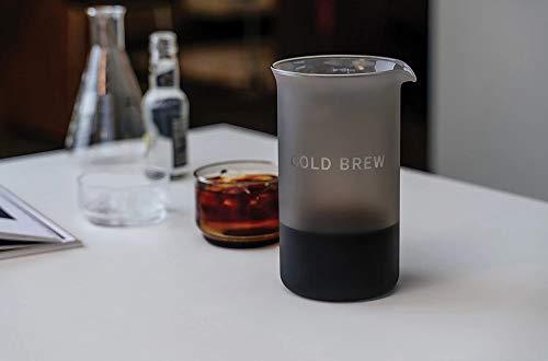 GOAT STORY 1269CB Kit de Cerveza fría café arábica Brasil, Vidrio