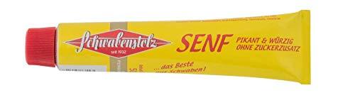 Schwabenstolz - Senf mittelscharf 10 x 50 ml Tube