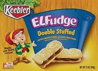 E.L. Fudge Double Stuffed Sandwich Cookies 12oz - 2 packs