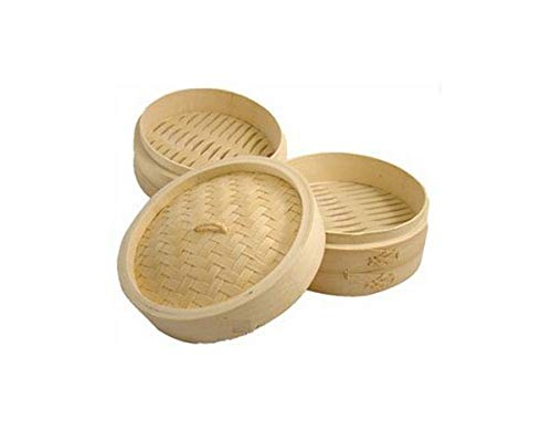 JapanBargain Bamboo Cooking Steamer Set