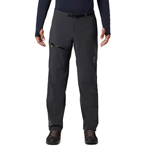 Mountain Hardwear Men's Standard Stretch Ozonic Pant, Dark Storm, Large x Regular