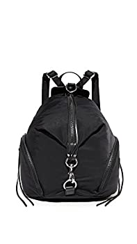 Rebecca Minkoff Women s Nylon Julian Backpack Black One Size