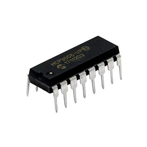 MICROCHIP TECHNOLOGY A/D-Wandler 8 Kanal mit SPI-Schnittstelle