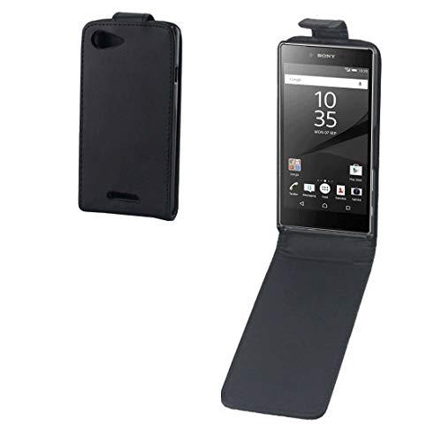 Liaoxig Sony Fälle Vertical Flip Leder Tasche for Sony Xperia E2 / E3 (Schwarz) Sony Fälle
