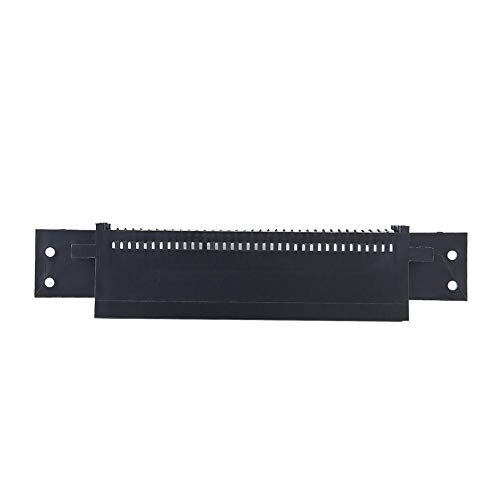 Suchinm Adaptador de Conector de 72 Pines, Adaptador de convertidor de Enchufe de Ranura Negro para Consola de Juegos