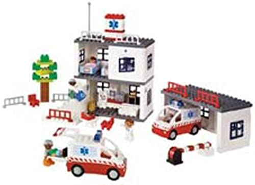 LEGO uplo Krankenhaus Set Notarztwagen 9226