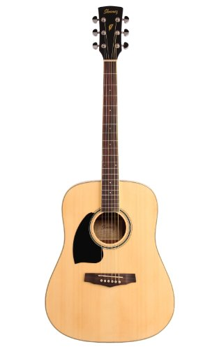 WESTERNGITARRE PF SERIE IBANEZ NATURAL, LEFTHAND