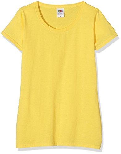 Camiseta para Mujer, Amarillo