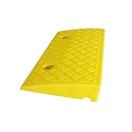 Color de la almohadilla de pendiente Almohadilla triangular antideslizante Rampas de servicio portátiles duraderas Rampas para sillas de ruedas para discapacitados Rampas de umbral para el hogar (Colo