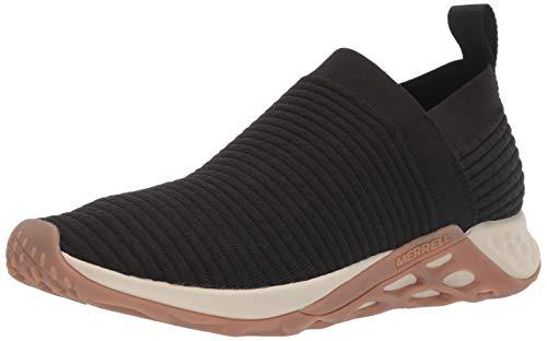Merrell Men's Range Laceless AC+ Sneaker, Black/Gum, 09.5 M US